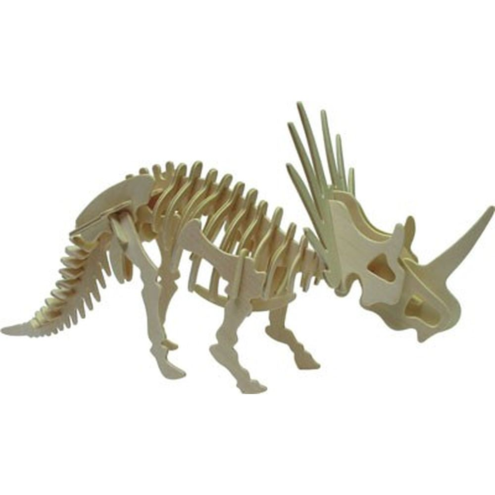 3D Puzzle Holzbausatz Styracosaurus