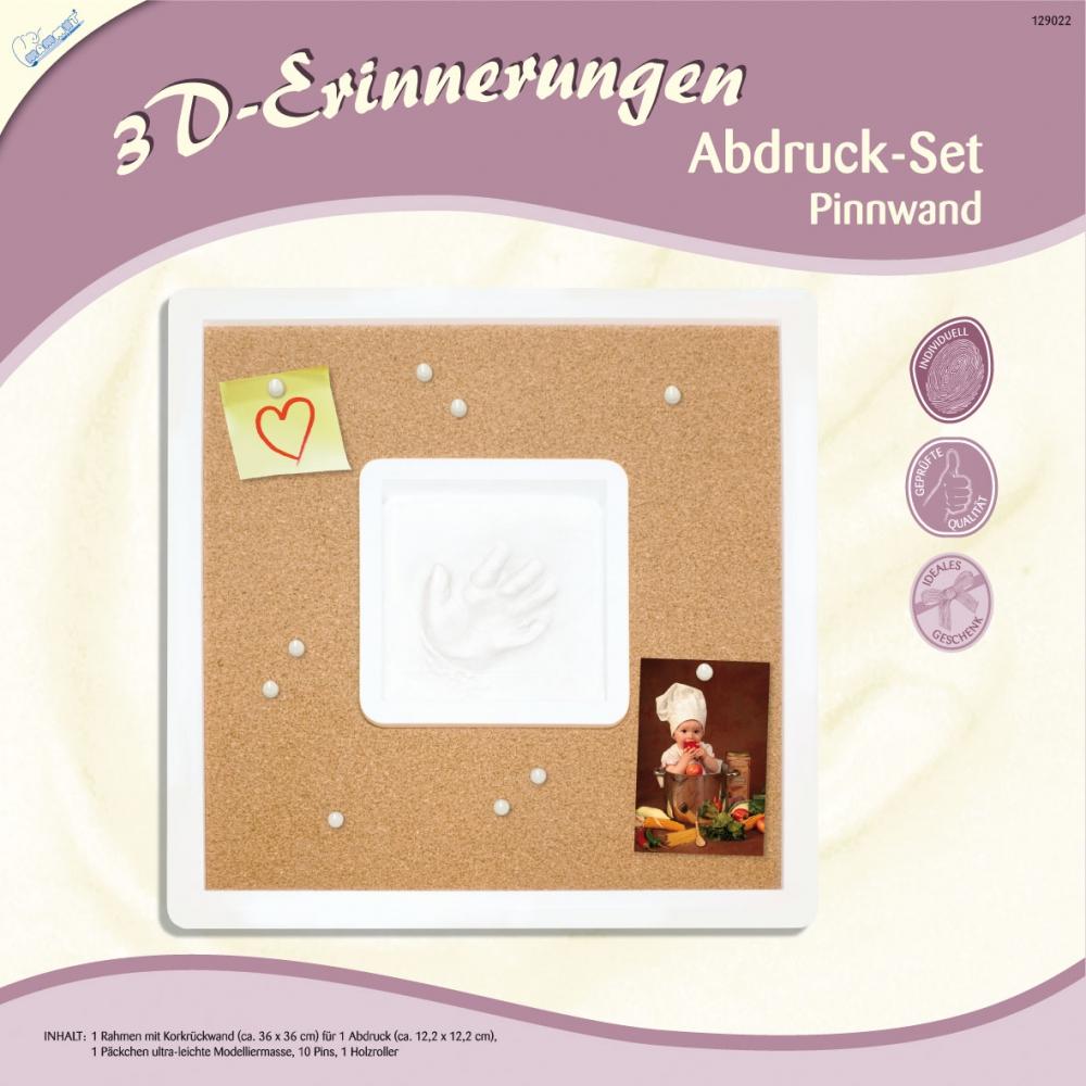 3D Erinnerungen - Abdruck-Set Pinnwand SK-Spielwaren