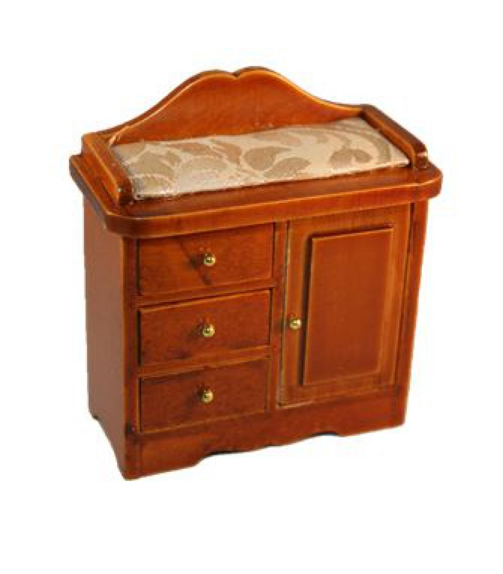 wickelkommode wickeltisch holz mittelbraun sk spielwaren. Black Bedroom Furniture Sets. Home Design Ideas