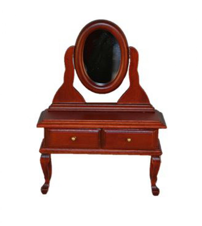 schminktisch schminkkommode spiegeltisch mahagony sk spielwaren. Black Bedroom Furniture Sets. Home Design Ideas