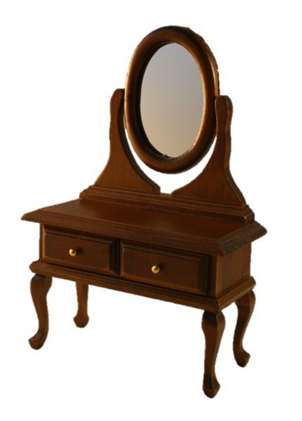 puppenstube miniatur schminktisch schminkkommode. Black Bedroom Furniture Sets. Home Design Ideas