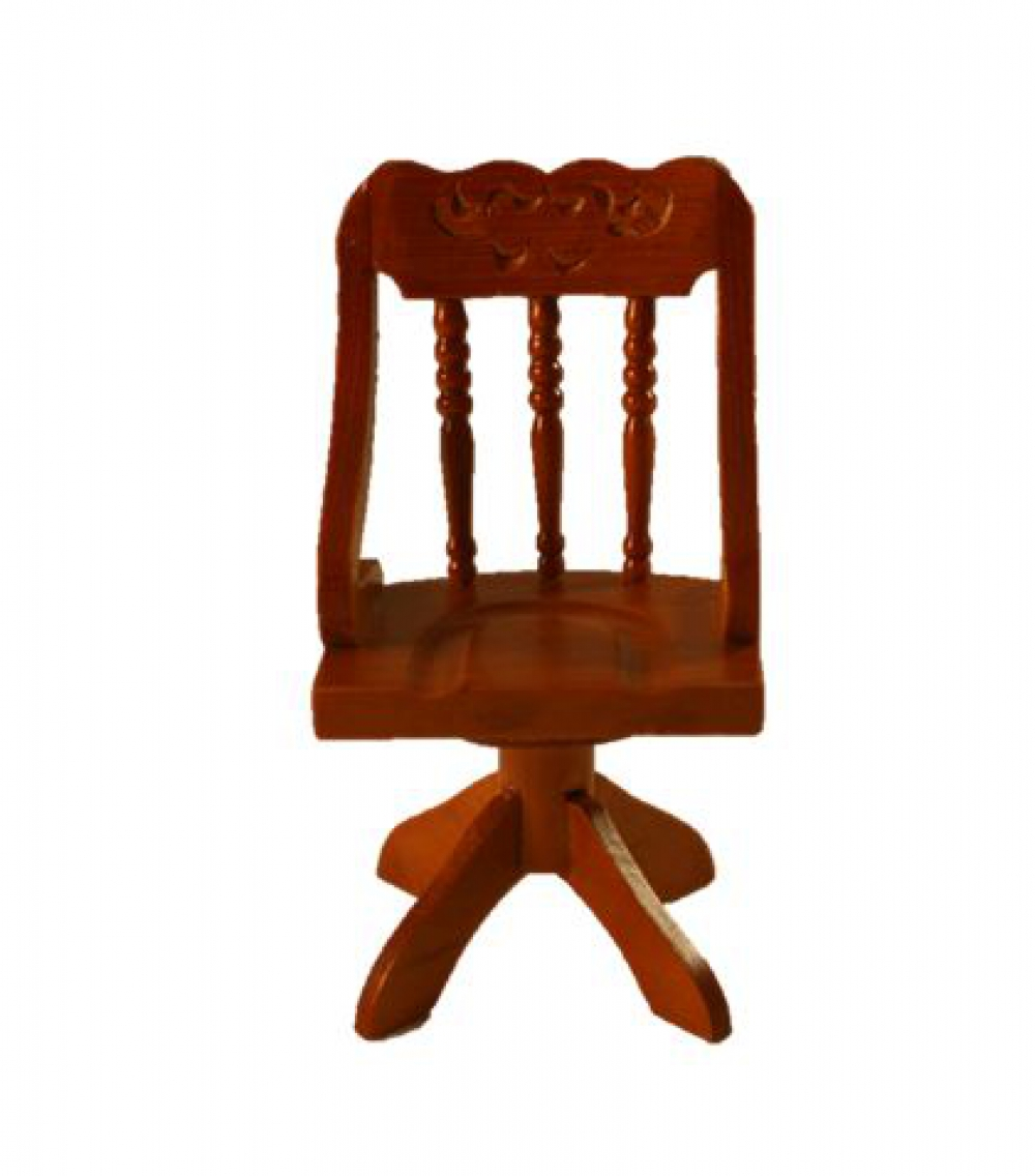 puppenstube miniatur b rostuhl holz mittelbraun ebay. Black Bedroom Furniture Sets. Home Design Ideas